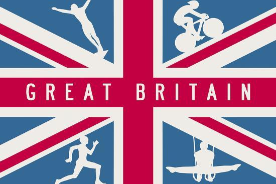 Sporting Britain I-The Vintage Collection-Giclee Print