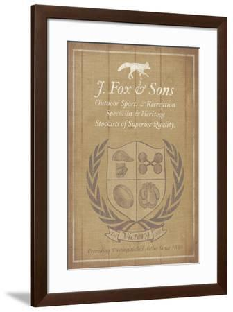 Sporting Club II-The Vintage Collection-Framed Giclee Print