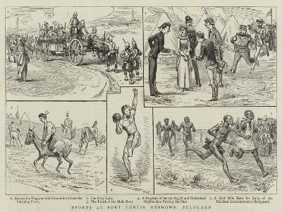 Sports at Fort Curtis, Etshowe, Zululand--Giclee Print