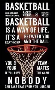 Basketball is a Way of Life by Sports Mania