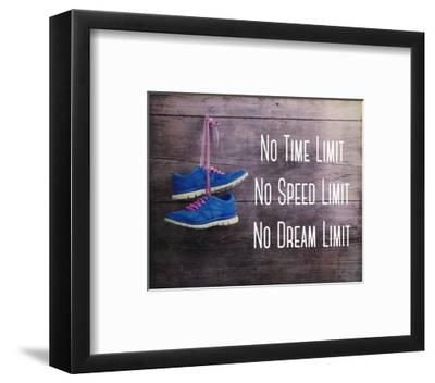 No Time Limit No Speed Limit No Dream Limit Blue Shoes