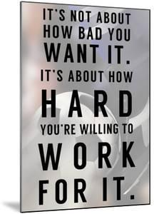 Work For It by Sports Mania