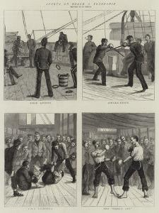 Sports on Board a Troopship