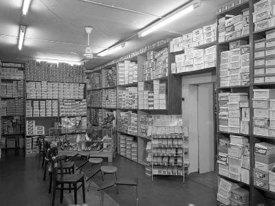 Sports Shop Interior, Sheffield, South Yorkshire, 1961-Michael Walters-Photographic Print