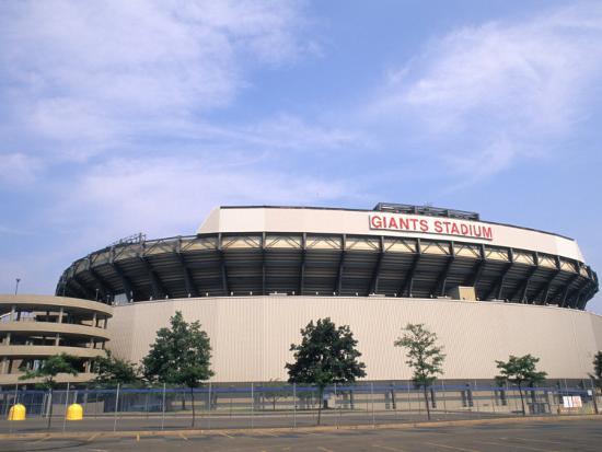Sports Stadium for NFL New York Giants, New Jersey, USA-Bill Bachmann-Photographic Print