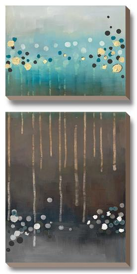 Spot the Rain II-Laurie Maitland-Canvas Art Set