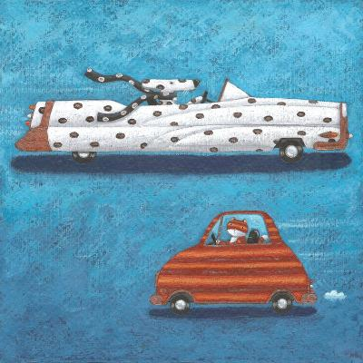Spots and Stripes-Peter Adderley-Art Print