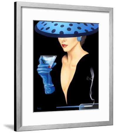 Spotted Hat Lady II-Gerard Kelly-Framed Giclee Print