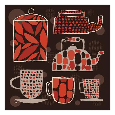 Spotted Kitchen II-Mo Mullan-Art Print