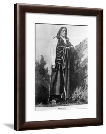 Spotted Tail--Framed Giclee Print