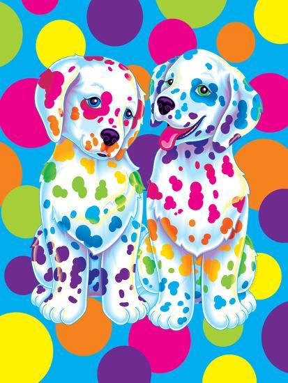 Spotty And Dotty Art Print By Lisa Frank
