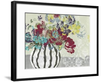 Spray of Flowers I-Jennifer Goldberger-Framed Giclee Print
