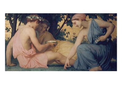 Spring, 1858-William Adolphe Bouguereau-Giclee Print