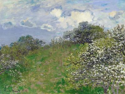 Spring, 1875-Claude Monet-Giclee Print