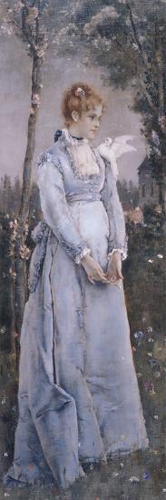 Spring, 1876-Alfred Emile Leopold Joseph Victor Stevens-Giclee Print