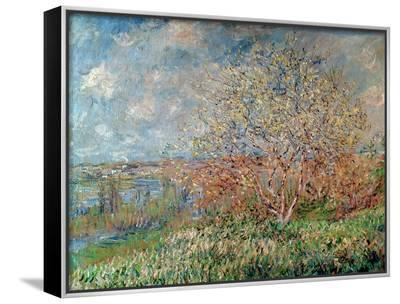Spring, 1880-82-Claude Monet-Framed Canvas Print