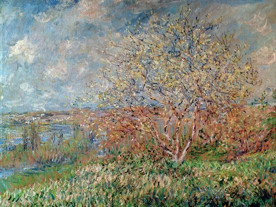 Spring, 1880-82-Claude Monet-Premium Giclee Print