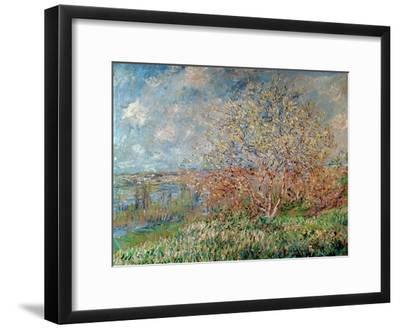 Spring, 1880-82-Claude Monet-Framed Premium Giclee Print