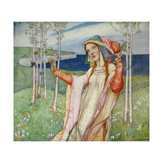 Spring. 1911-Edward Reginald Frampton-Giclee Print