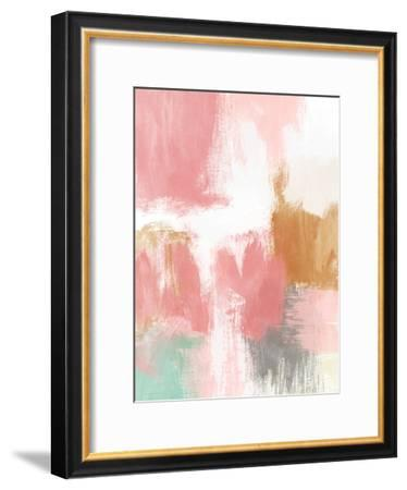Spring Abstract II-Linda Woods-Framed Art Print