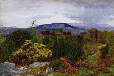 Spring, Arnside Knot from Warton Crag, C.1863-Daniel Alexander Williamson-Giclee Print
