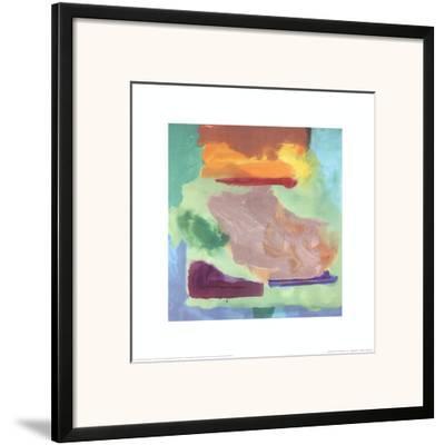 Spring Bank, c.1974-Helen Frankenthaler-Framed Art Print