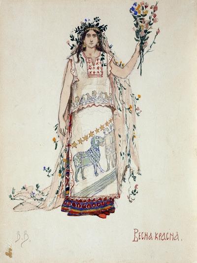 Spring Beauty, 1885-Viktor Mikhaylovich Vasnetsov-Giclee Print