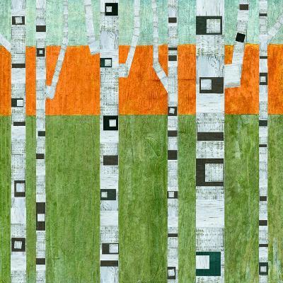 Spring Birches-Michelle Calkins-Art Print