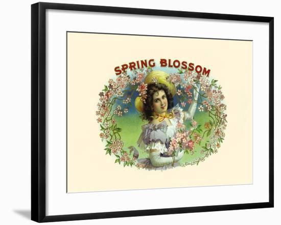 Spring Blossom- Witsch & Schmitt Lihto.-Framed Art Print
