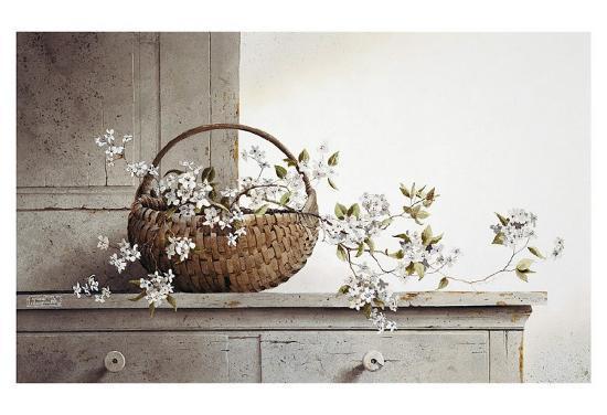 Spring Blossoms-Ray Hendershot-Art Print