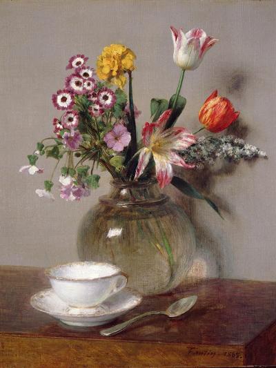 Spring Bouquet, 1865-Henri Fantin-Latour-Giclee Print