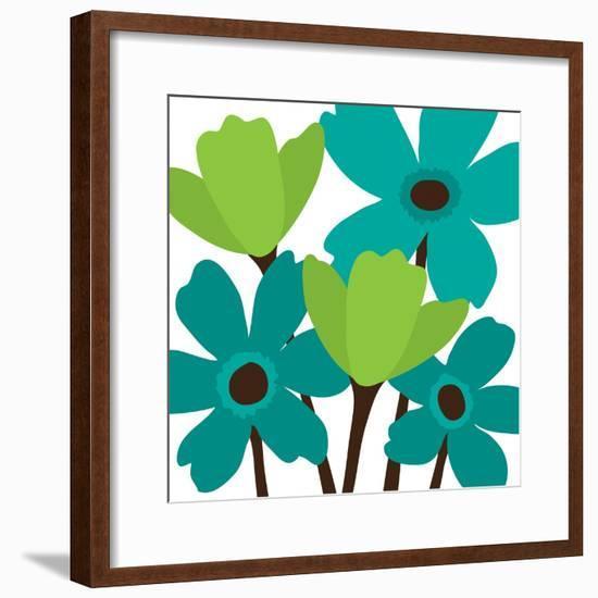 Spring Bouquet II-N. Harbick-Framed Art Print