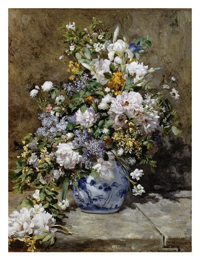 Spring Bouquet-Pierre-Auguste Renoir-Premium Giclee Print