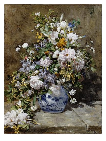 Spring Bouquet-Pierre-Auguste Renoir-Giclee Print
