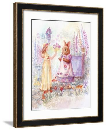 Spring Bouquet-Judy Mastrangelo-Framed Giclee Print