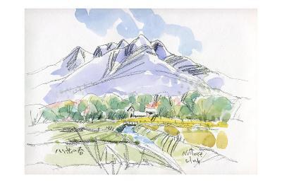 Spring Breeze Runs Through Kiyosato Plateau-Kenji Fujimura-Art Print