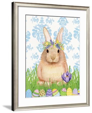Spring Bunny I-Kathleen Parr McKenna-Framed Art Print
