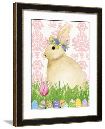 Spring Bunny III-Kathleen Parr McKenna-Framed Art Print