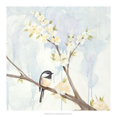 Spring Chickadees II-Jade Reynolds-Art Print