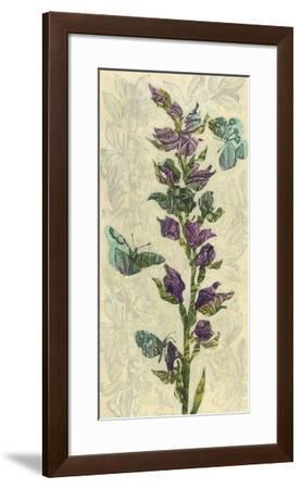Spring Collage II-Megan Meagher-Framed Giclee Print