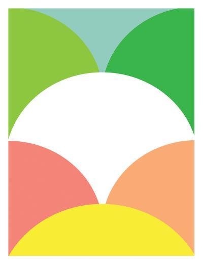 Spring Color Circles-Patricia Pino-Art Print