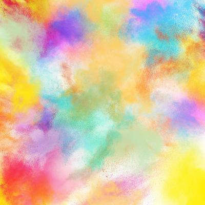 Spring Colourful Burst-Federico Caputo-Photographic Print