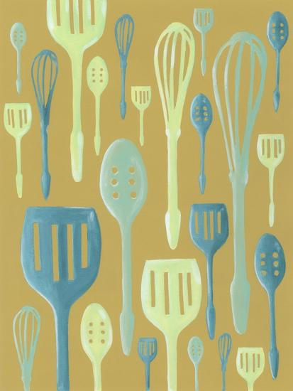 Spring Cutlery I-Vanna Lam-Art Print