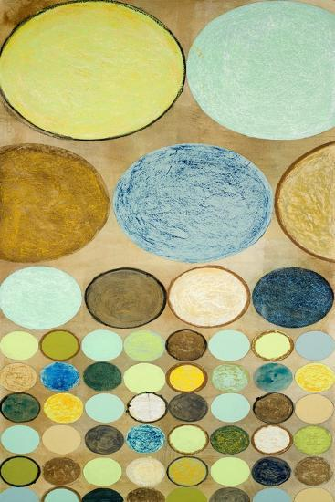 Spring Dots I-Michael Marcon-Art Print