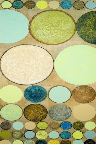 Spring Dots II-Michael Marcon-Art Print