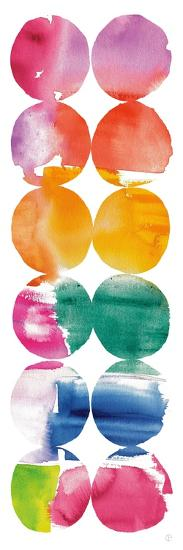 Spring Dots Panel II-Elyse DeNeige-Art Print