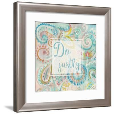 Spring Dream Paisley II Pink Sentiment-Danhui Nai-Framed Art Print