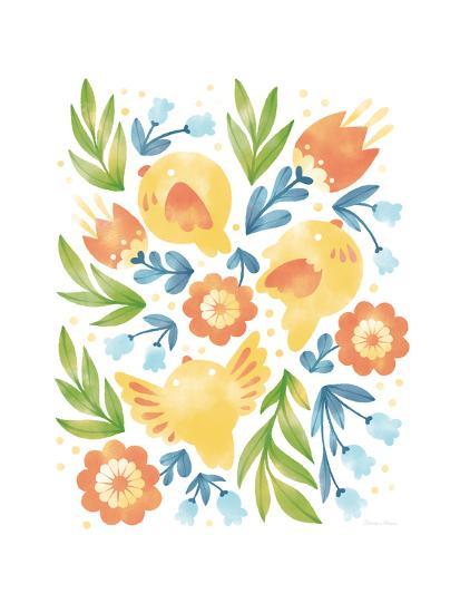 Spring Fling II-Cleonique Hilsaca-Art Print
