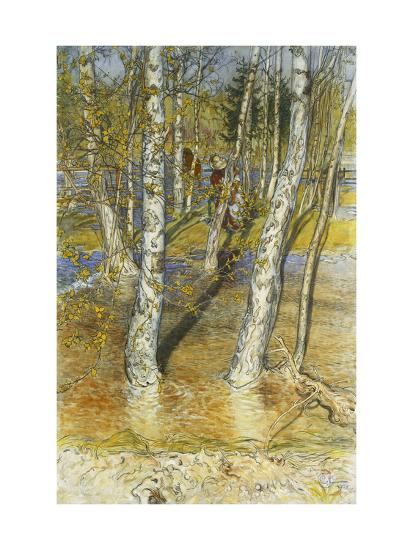 Spring Flood-Carl Larsson-Giclee Print