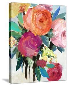 Spring Florals II 16 x 20 Canvas